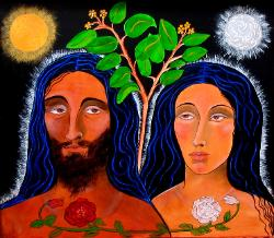 ADAM AND EVE, Adam and Eve before the Fall