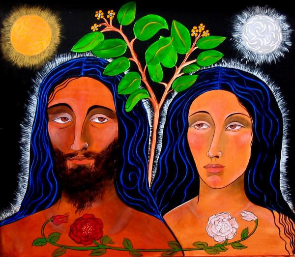 Adam and Eve Before The Fall