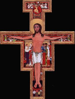 San Damiano Cross, Cross of St. Francis of Assisi