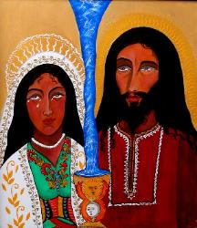 YESHUA AND MAGDALENA, Christ and Mary Magdalen