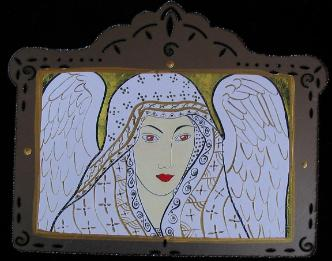 angel image, reproduction, art print
